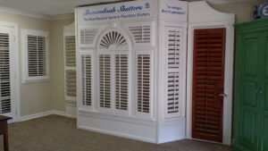 Plantation Shutters Showroom at Shenandoah Shutters